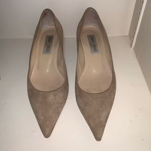 Authentic Jimmy Choo Romy 60 Suede Pumps